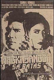 Magkasangga sa batas Poster