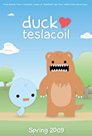 Duck Heart Teslacoil Poster