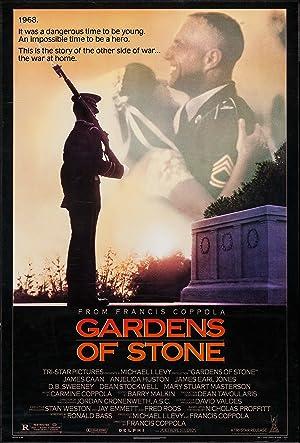 Poster Der steinerne Garten