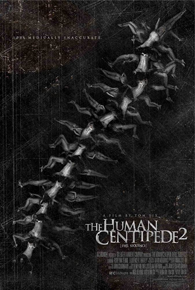 The Human Centipede II: Full Sequence (2011), The Human Centipede: Final Sequence (2015) MV5BMjkwMDI0NjA5OV5BMl5BanBnXkFtZTcwODAxODI4Ng@@._V1_SY1000_CR0,0,674,1000_AL_
