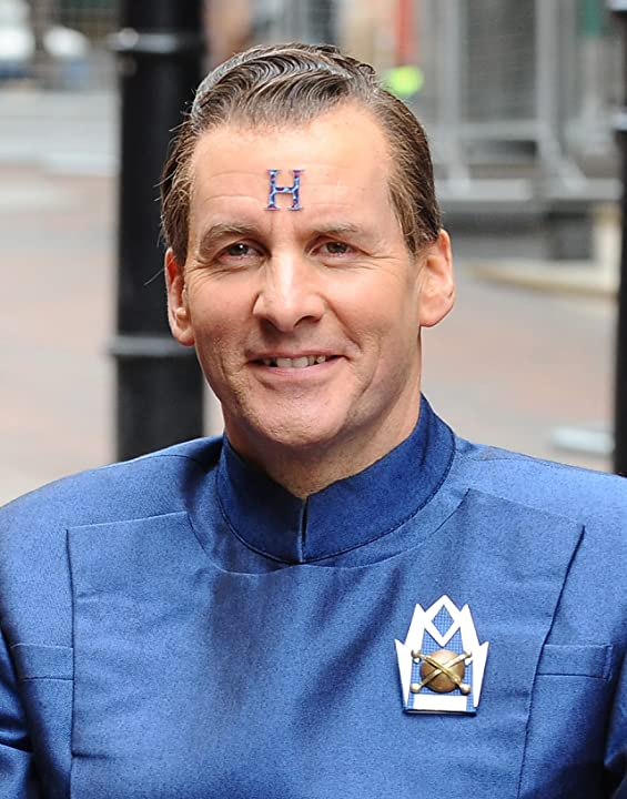 Chris Barrie at Red Dwarf (1988)