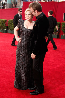 Patricia Arquette and Thomas Jane at event of The 61st Primetime Emmy Awards