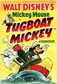 Tugboat Mickey Poster