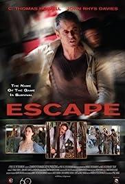 Escape(2012) Poster - Movie Forum, Cast, Reviews