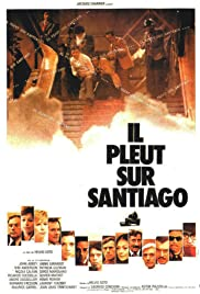 Il pleut sur Santiago Poster