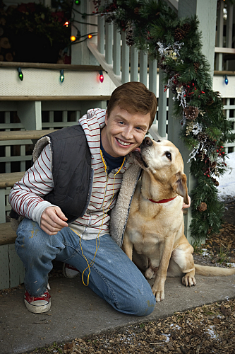 Noel Fisher in A Dog Named Christmas (2009)
