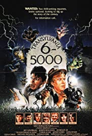 Transylvania 6-5000(1985) Poster - Movie Forum, Cast, Reviews