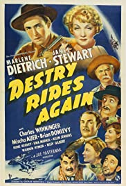 Destry Rides Again (1939) Poster - Movie Forum, Cast, Reviews