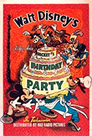 Mickey's Birthday Party (1942) Poster - Movie Forum, Cast, Reviews