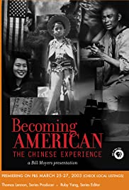 Becoming American: The Chinese Experience Poster