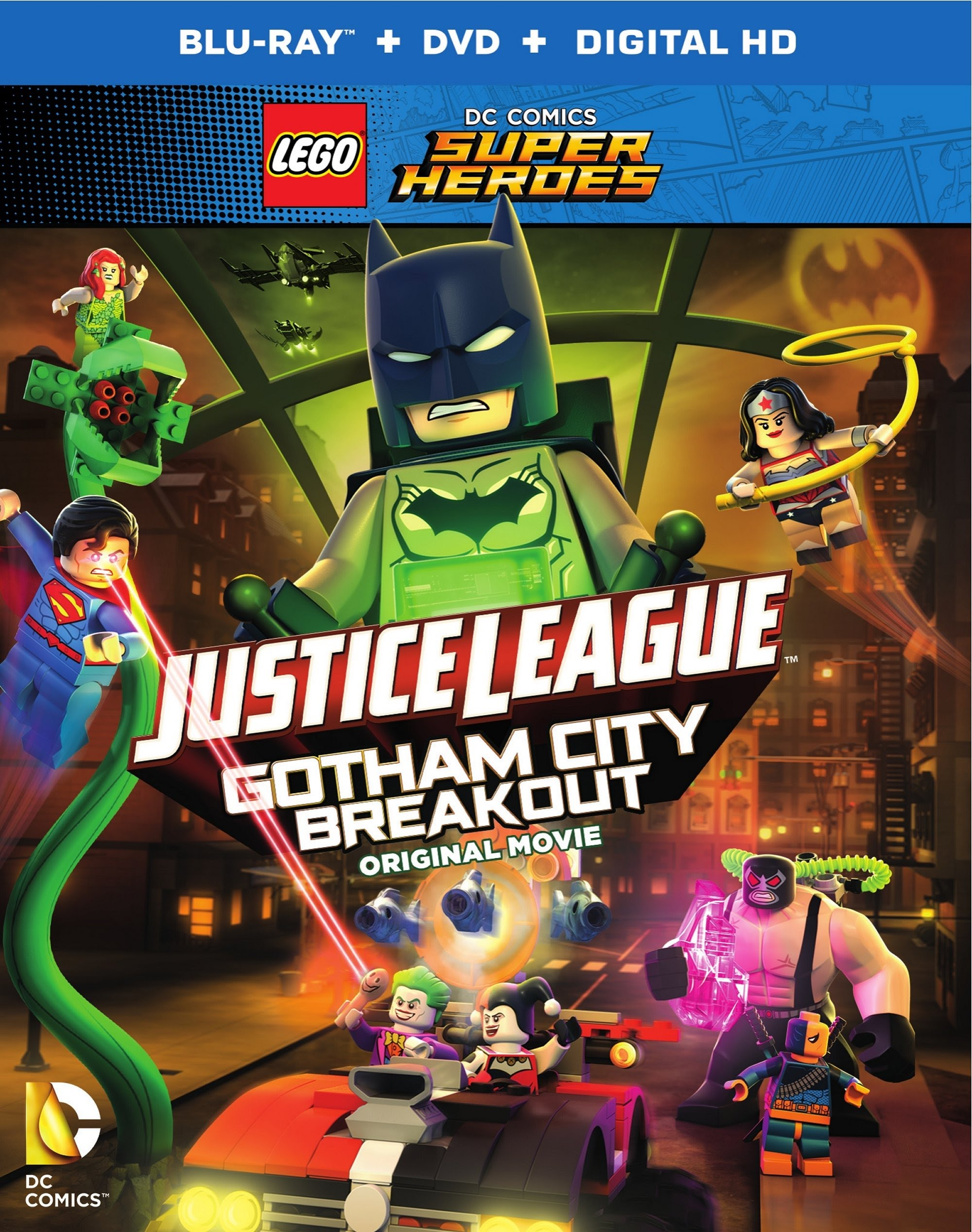 image Lego DC Comics Superheroes: Justice League – Gotham City Breakout (2016) (V) Watch Full Movie Free Online