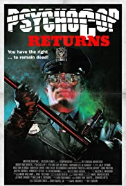 Psycho Cop Returns (1993) Poster - Movie Forum, Cast, Reviews