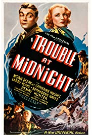Trouble at Midnight Poster