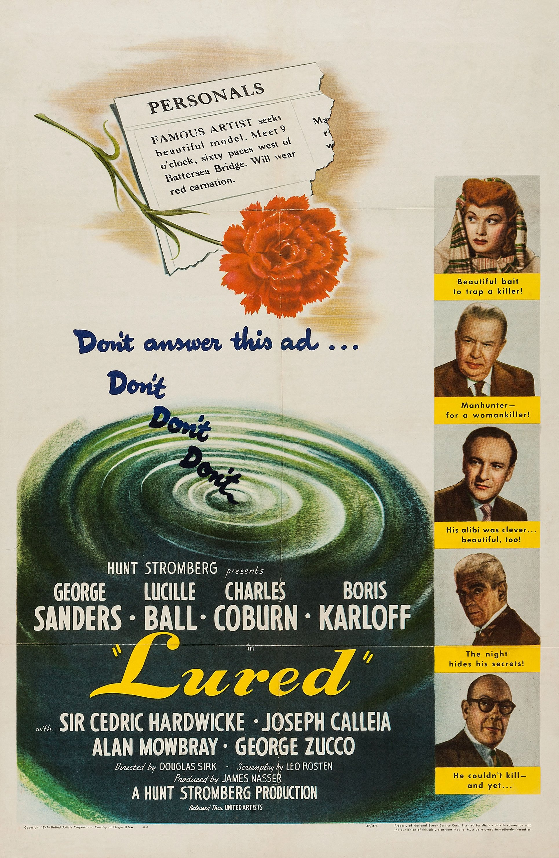 image Lured Watch Full Movie Free Online