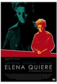 Elena quiere Poster