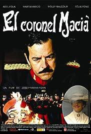 El coronel Macià Poster