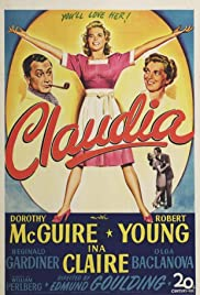 Claudia (1943) Poster - Movie Forum, Cast, Reviews