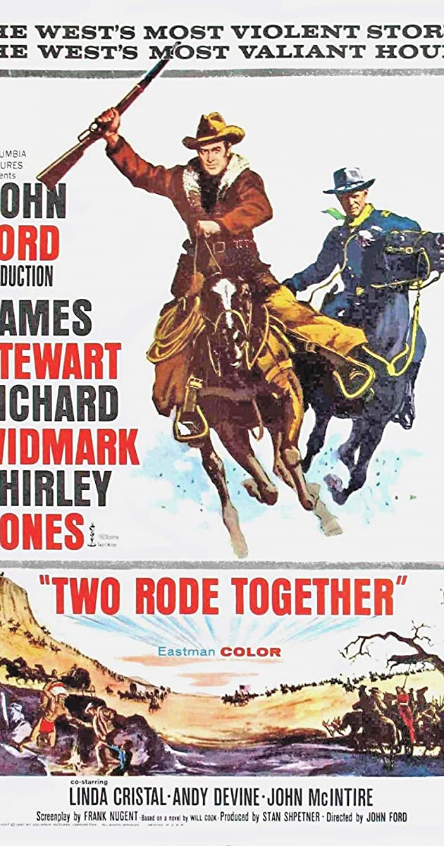 Two Rode Together (1961) - IMDb