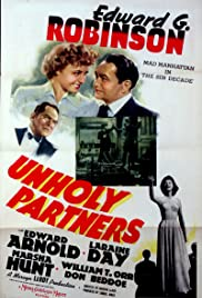 Unholy Partners (1941) Poster - Movie Forum, Cast, Reviews
