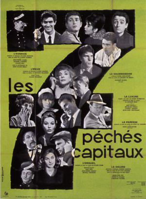 Les sept péchés capitaux (1962)