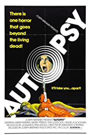 Autopsy (1975) Poster - Movie Forum, Cast, Reviews