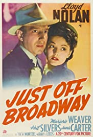 Just Off Broadway Poster