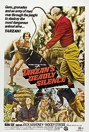 Tarzan's Deadly Silence Poster