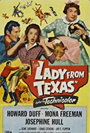 The Lady from Texas Poster