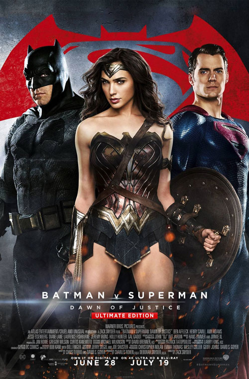 Batman v Superman: Dawn of Justice poster