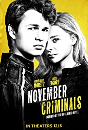 November Criminals (2017) Poster - Movie Forum, Cast, Reviews