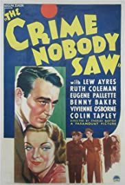 The Crime Nobody Saw Poster