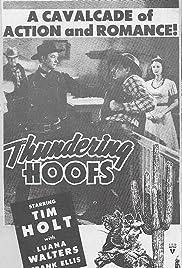 Thundering Hoofs Poster