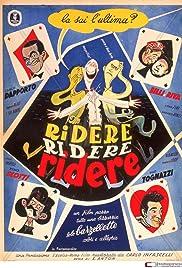 Ridere! Ridere! Ridere! Poster