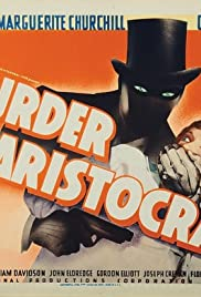 Murder by an Aristocrat Poster