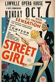 Street Girl(1929) Poster - Movie Forum, Cast, Reviews