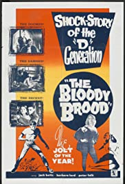 The Bloody Brood (1959) Poster - Movie Forum, Cast, Reviews