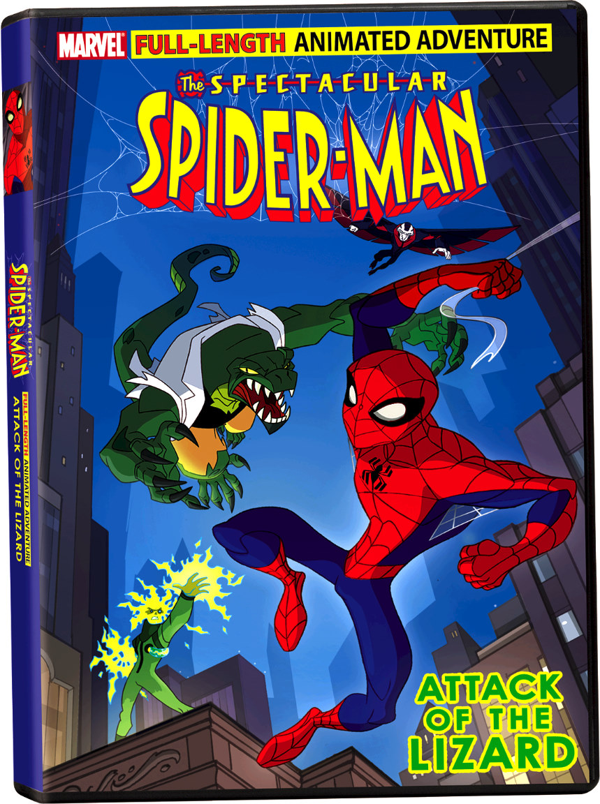 image The Spectacular Spider-Man: Attack of the Lizard (2008) (V) Watch Full Movie Free Online