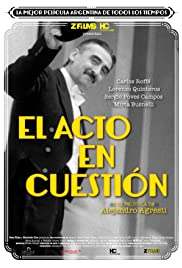 El acto en cuestión (1993) Poster - Movie Forum, Cast, Reviews