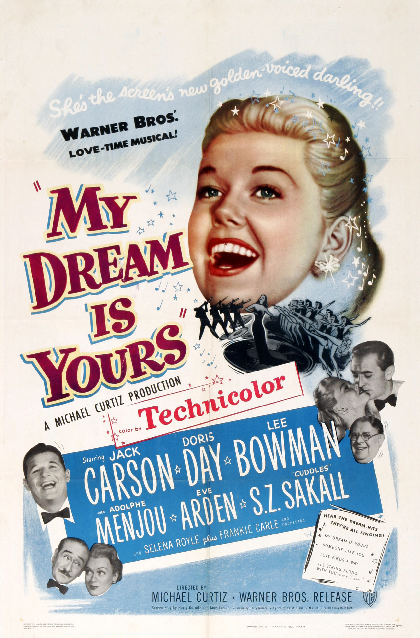 image My Dream Is Yours Watch Full Movie Free Online