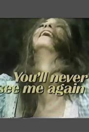You'll Never See Me Again Poster
