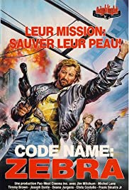 Code Name Zebra Poster