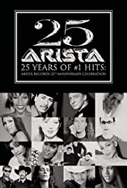Arista Records' 25th Anniversary Celebration Poster