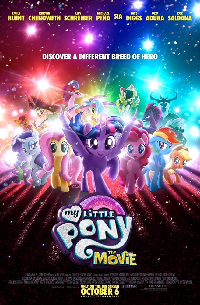movie poster for My Little Pony