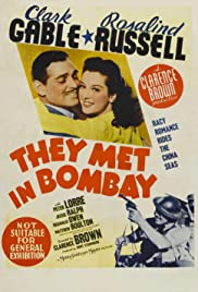 They Met in Bombay(1941) Poster - Movie Forum, Cast, Reviews