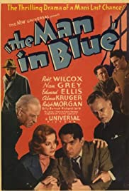 The Man in Blue Poster