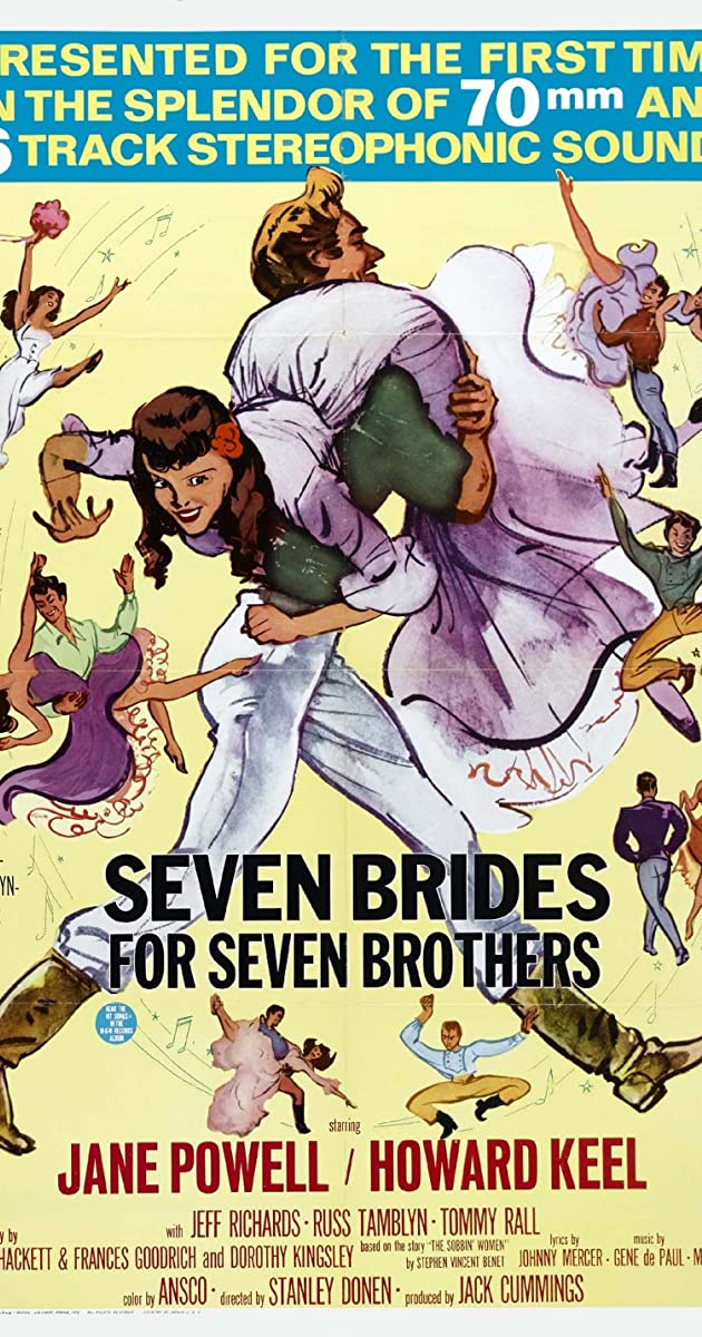 Seven Brides For Brothers 1954