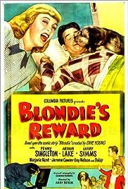 Blondie's Reward Poster