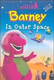 Barney in Outer Space Poster