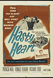 The Hasty Heart (1949) Poster - Movie Forum, Cast, Reviews