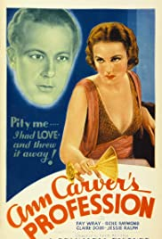 Ann Carver's Profession Poster